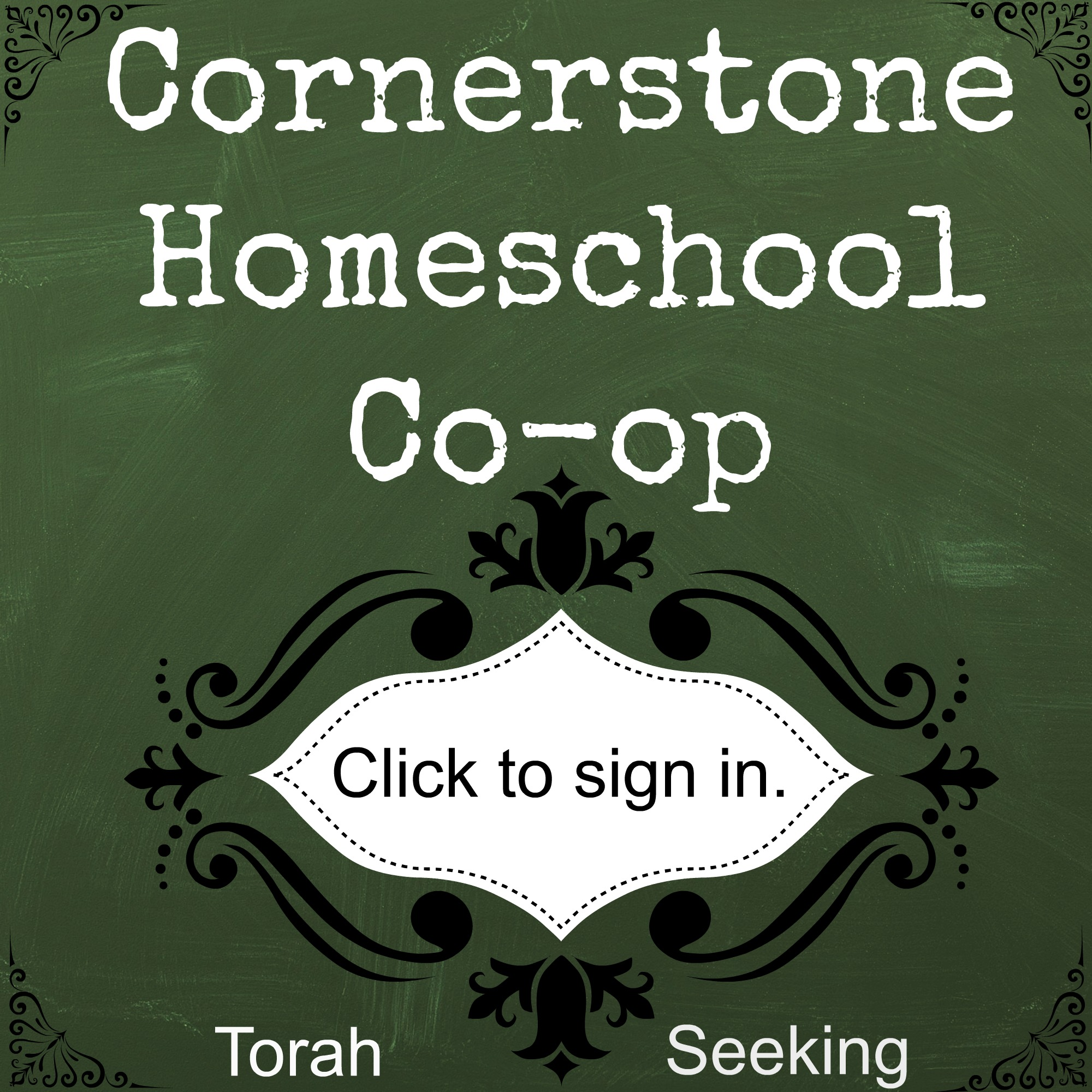 Login to Cornerston Homeschool Group